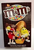 M&M's Milk Chocolate Easter Egg with a fun size bag of Choc M&M's