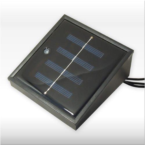Teichbeleuchtung 'STONE LIGHT' mit Solarsensor – 4-teiliger Leuchtsatz mit Solarpanel und Unterwasserleuchten für das geheimnisvolle Licht im Wasser!