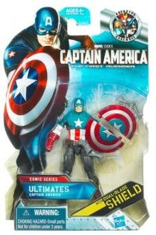 Captain America Movie 4 Inch Series 1 Action Figure Ultimates Captain America