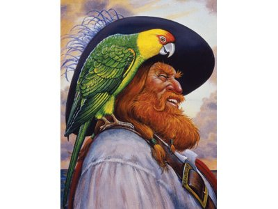 Pirate's Life Jigsaw Puzzle - Redbeard & Paully