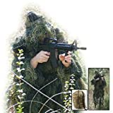 Red Rock Gear Mens Ghillie Suit, Woodland Camouflage, Medium/Large