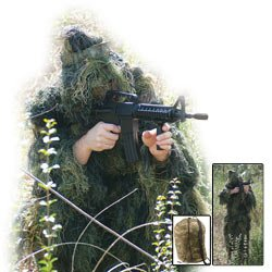 Red Rock Gear Ghillie Suit Woodland Camouflage