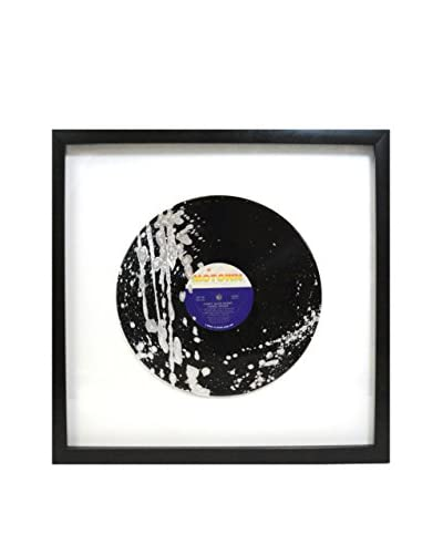Aviva Stanoff Lionel Richie Can't Slow Down Vinyl with Silver Paint