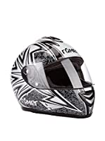 Römer Casco de Moto Tribal Integral (Negro / Blanco)
