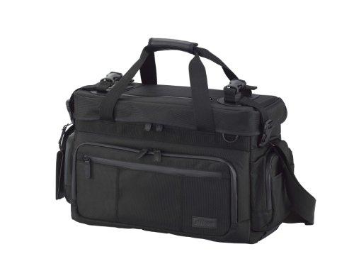 Nikon ショルダーバッグ シューティングマスターショルダーバッグL 18.9L レインカバー付 ブラック SMSL
