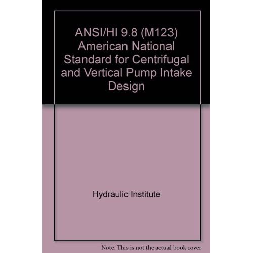 Ansi Hi 9 8 M123 American National Standard For