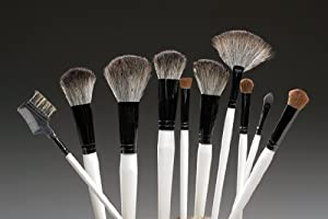 10 Pc. White Brush Set