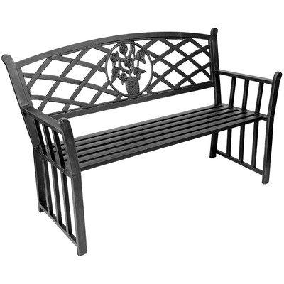 Jordan Manufacturing Steel Park Bench