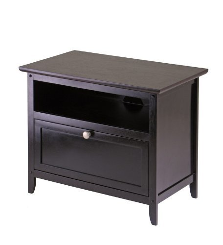 Cheap Console, TV Table, Stand with Drop Down Door and Shelf (B001MS2G5Q)