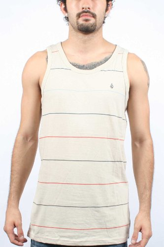 Volcom - Frequency Tank Mens Sleeveless Knit, Size: X-Large, Color: Dust