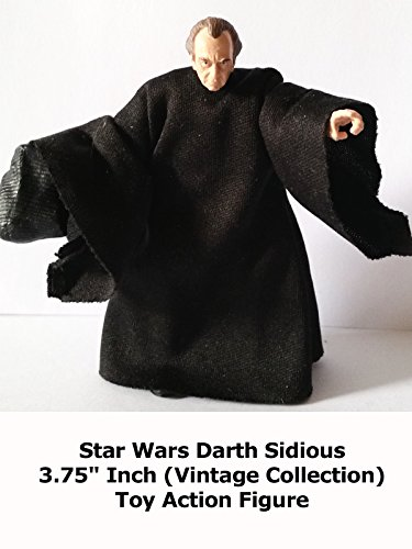 "Review: Star Wars Darth Sidious 3.75"" Inch (Vintage Collection) Toy Action Figure"