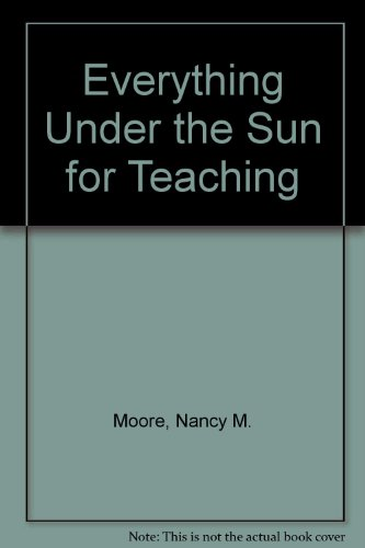 Everything under the sun for teaching PDF