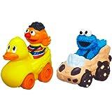 Sesame Street Ernie and Cookie Monster Playskool Racers
