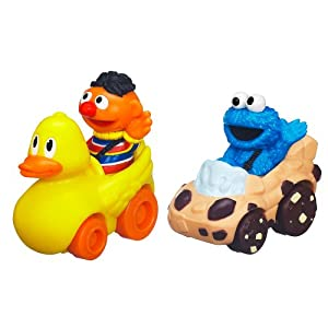 Sesame Street Ernie and Cookie Monster Playskool Racers