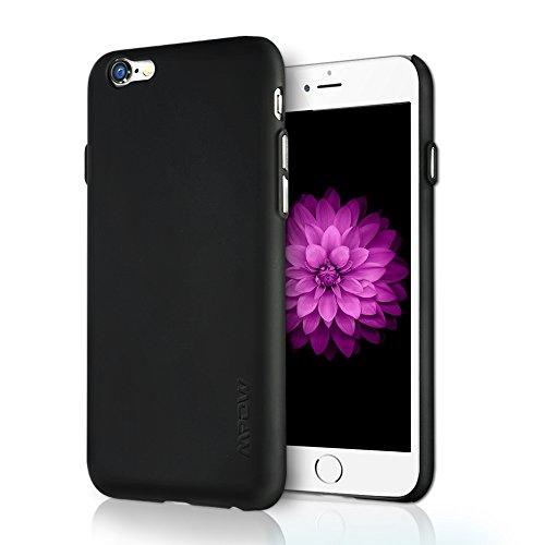 Mpow iPhone6S/ iPhone6 スマートフォンケース 薄くて軽い ウルトラ フィット  (ブラック)