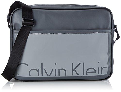 Calvin Klein Jeans CRUISE MESSENGER, Borsa a tracolla uomo, Grigio (Grau (CASTLEROCK/GRIFFIN 908)), 42x31x12 cm (B x H x T)
