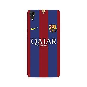 Ebby Qatar Premium Printed Case For HTC Desire 728