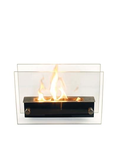 Purline Ethanol Boden- und Tisch-Kamin NYX Glas Schwarz one size