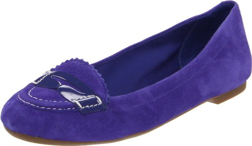 Sperry Top-Sider Women's Brooks Slip-on Shoes,Spectral Blue Suede,6.5 M US