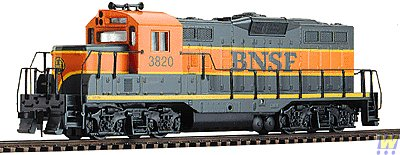 Walthers Trainline EMD HO Scale GP9M Ready-to-Run Burlington Northern Sante Fe #3820 (Model Trains Ho Scale Locomotives compare prices)