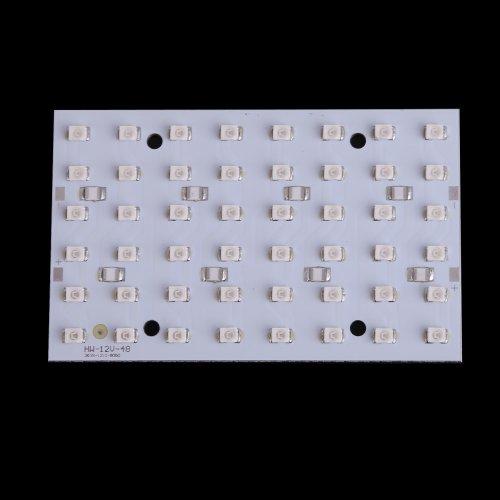 Vktech Super Bright 12V 48 Leds Smd3528 Lamp Energy Saving Panel Board (Blue Light)