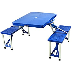 Picnic at Ascot Portable Folding Picnic Table for 4 from PICNIC AT ASCOT