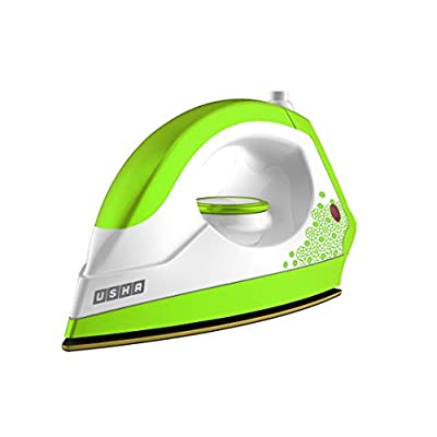 Usha 3302 1100-Watt Dry Iron (Gold and Electric Lime)