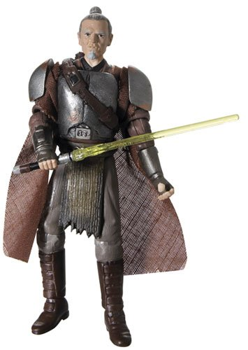 Buy Low Price Hasbro Star Wars Basic Figure Force Unleashed General Rahm Kota Samurai Jedi (B000M6B448)