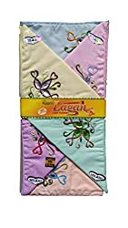 Milano Light colour Cotton handkerchiefs for women - Pack of 12 pcs