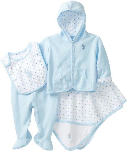 Polo Baby Gift Sets : Baby gift for boy u s polo assn boys newborn four