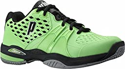Prince Men\'s Warrior Tennis Shoe-10 M US-Green/Black