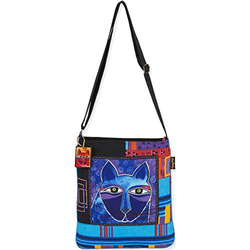 laurel-burch-laurel-burch-crossbody-bag-13-by-14-inch-whiskered-cats