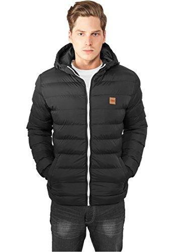 Urban Classics Basic Bubble Jacket black-white- M