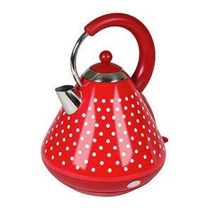Red Dotty Traditional Style Kettle-Kalorik from Kalorik