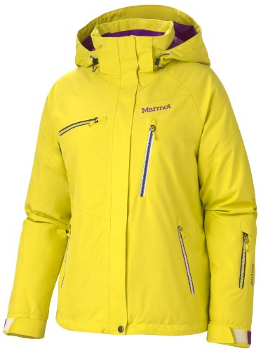 Marmot Damen Winterjacke Dawn Patrol, acid yellow, 6(XL), 75180-9029-6