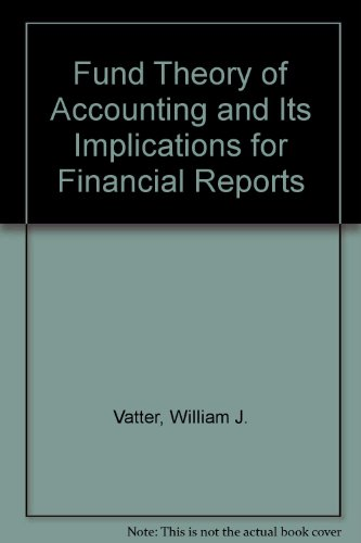 Fund Theory of Accounting and Its Implications for Financial Reports
