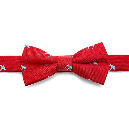 Star Wars Boys Silk Bow Tie (X-Wing - Red)