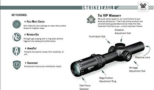 Vortex-Optics-Strike-Eagle-1-6x24-Rifle-Scope-AR-BDC-Reticle-MOA-SE-1624-1-with-FREE-Vortex-Kryptek-Highlander-Ball-Cap
