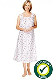 Square Neck Floral Print Nightdress