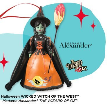 Hallmark Limited Edition Madame Alexander the Wicked Witch of the West, Wizard of Oz 2013 - Christmas Ornaments