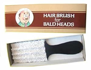 Hair Brush for Bald Heads - great joke item!