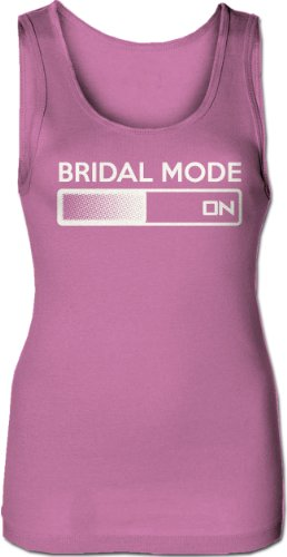 Women 39 S Bridal Mode Activated Tank Top Funny Bride Tank