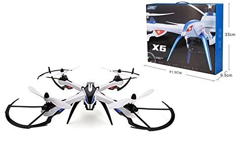 WayIn-JJRC-H16-Neue-Version-Yizhan-Tarantula-X6-1-Drone-4-Kanal-24-GHz-LCD-Fernbedienung-Quadcopter-mit-Hyper-IOC-Funktionsorientierung-Mode-No-Kamera-Schwarz