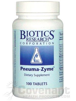 Biotics Research - Pneuma-Zyme 100T