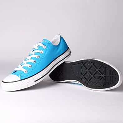 Converse men 39 s all star ox neon blue 5 0 m for Converse all star amazon