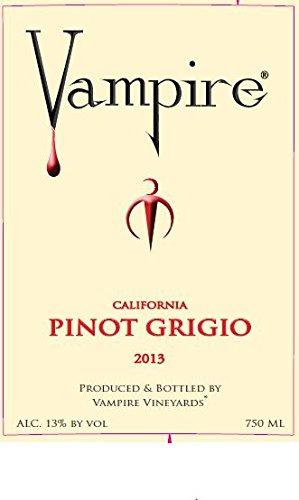 2013 Vampire Pinot Grigio 750 Ml
