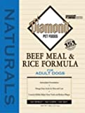 41qMmb4LzhL. SL160  Diamond Naturals Dry Food for Adult Dog, Beef and Rice Formula, 40 Pound Bag