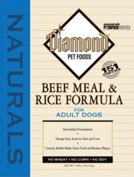 Diamond Naturals Dog Food Beef Review