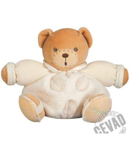 Kaloo Pure Bear with Leaf Small