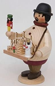 Happy Christmas Market Vendor German Incense Smoker by Kuhnert